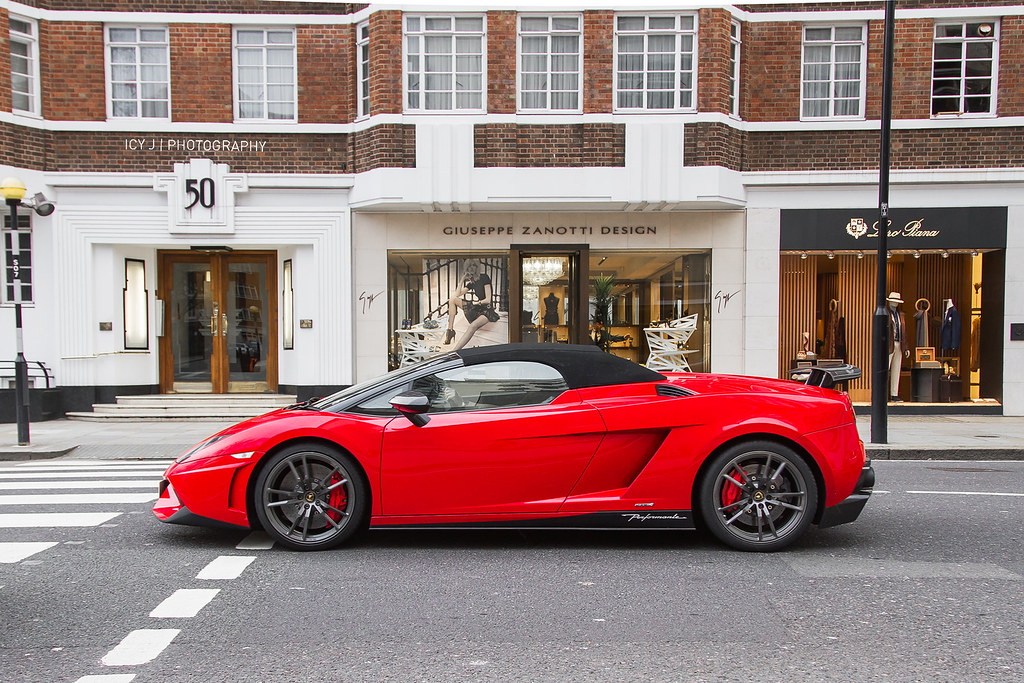 Red Lamborghini Gallardo Lp570 4 Spyder Performante Flickr