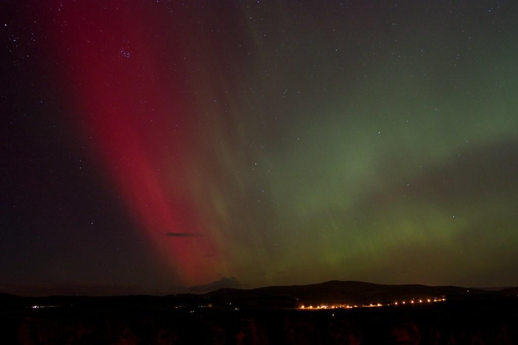 Aurora Borealis, Aberdeenshire, 27th February 2014