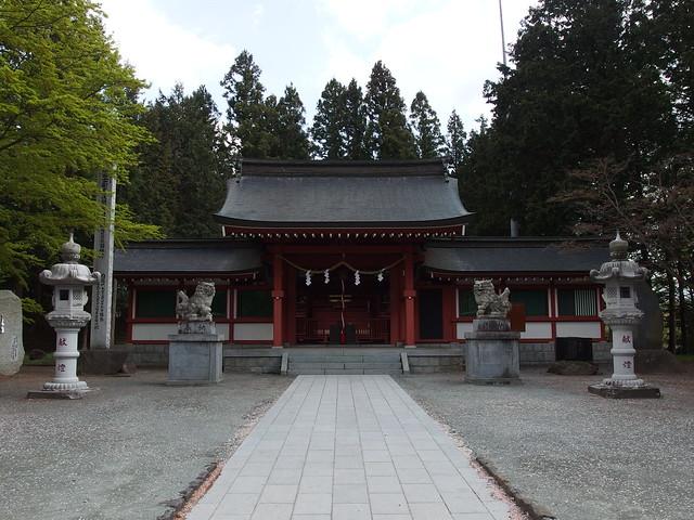 Fuji Omuro Sengen Shrine @ Fujikawaguchiko