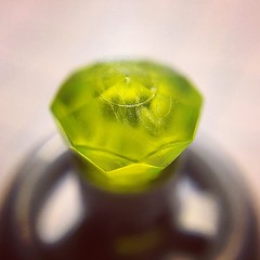 Rock 1x1 Jewel 24 Facet #lego #olloclip #macro #partaday