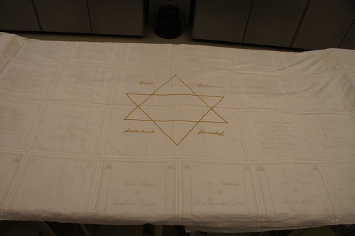 (1) The Sisterhood Tablecloth from the Homestead Hebrew Congregation | by Tammy Hepps