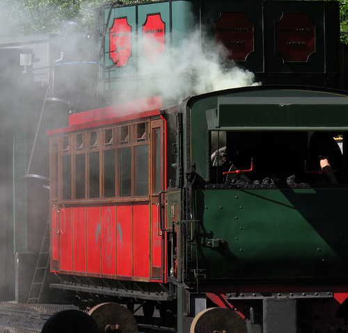 The steam train to Mount Snowdon in Wales