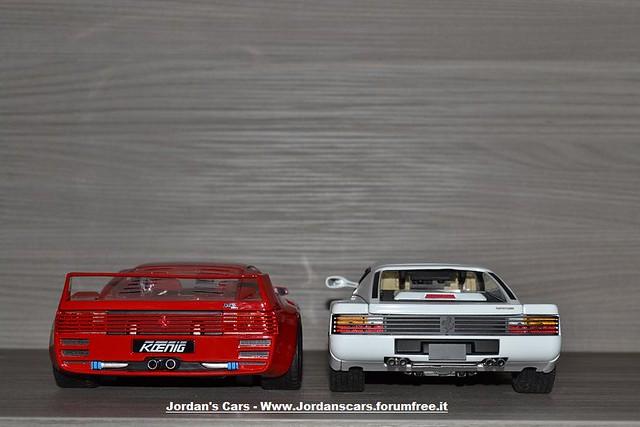 Koenig Vs Ferrari Testarossa