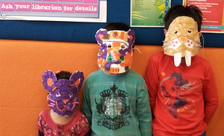 Masks @ Success Library | by Cockburn Libraries