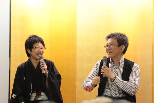 シェアする落語 立川こはる   by Norio.NAKAYAMA
