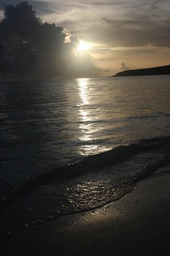 Sunrise from Playa Flamenco | by sondy