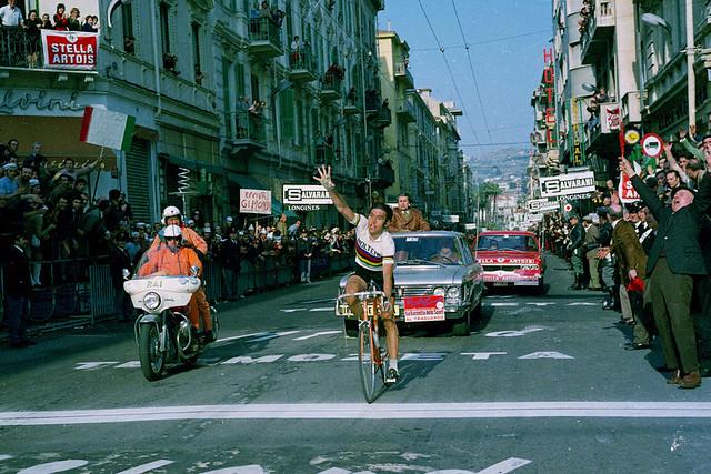 MERCKX Eddy, Via Roma - Milano-San Remo Victory