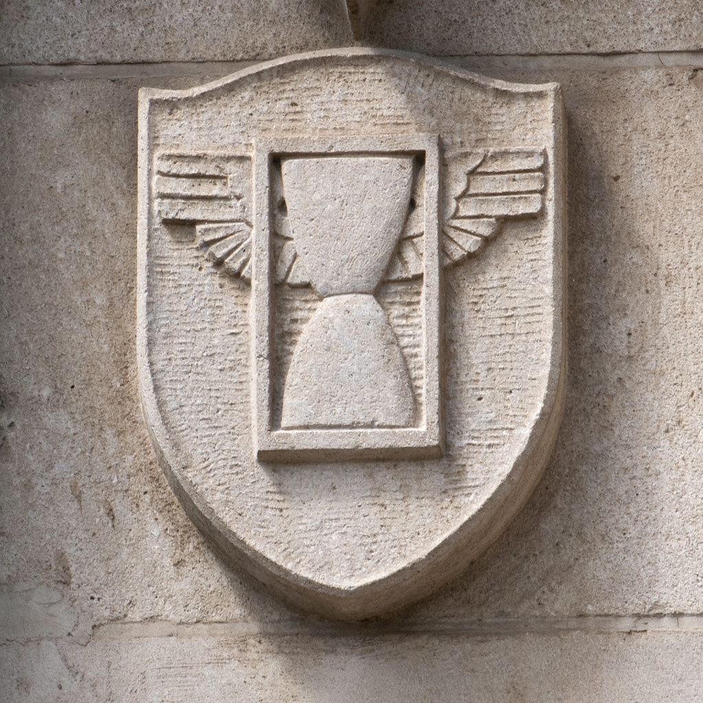 Winged Hourglass | Meaning: Masonic Symbol for the Passage o