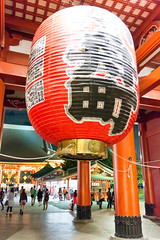 Illuminated Senso-ji Temple
