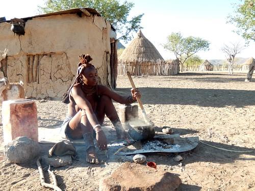 Opuwo - himba dorp 1