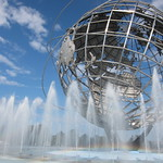 Unisphere and rainbow