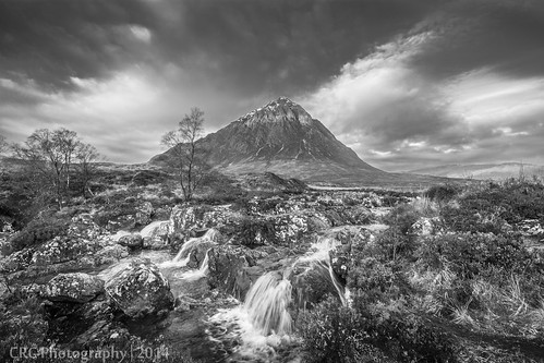 Black and White Buchaille | by Christopher Combe Photography