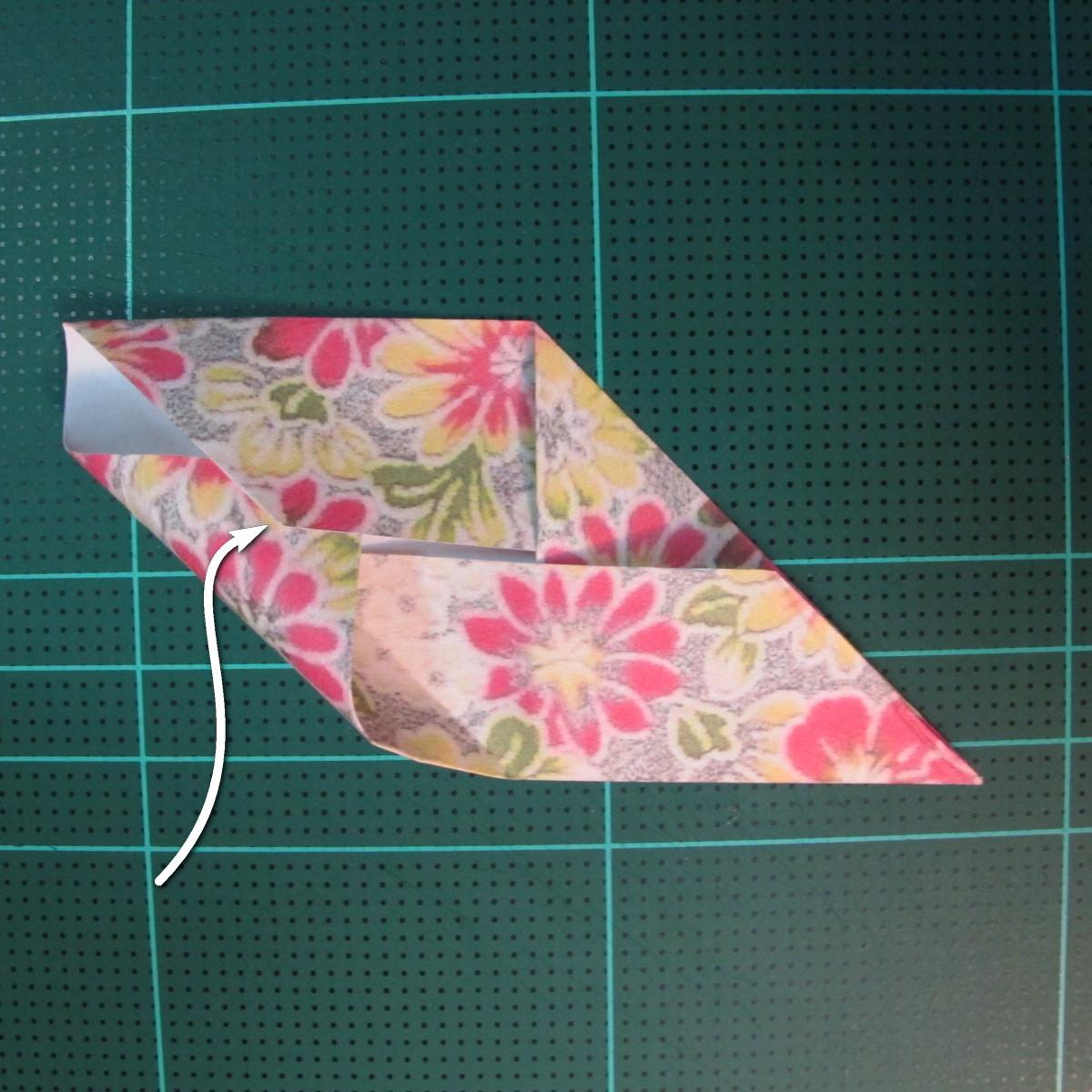 การพับกระดาษเป็นรูปเรขาคณิตทรงลูกบาศก์แบบแยกชิ้นประกอบ (Modular Origami Cube) 012