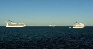 Ships at Anchor   by KathyCat102