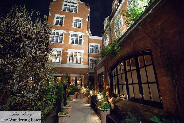 Path leading to Chiltern Firehouse