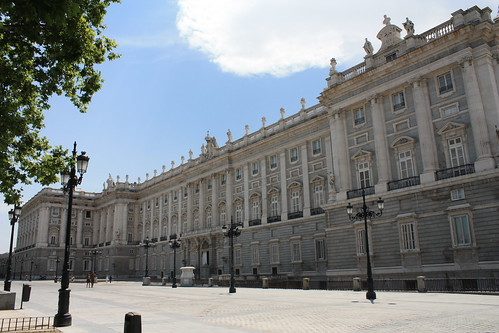 East facade of the Royal Palace of Madrid | by MarkDoliner