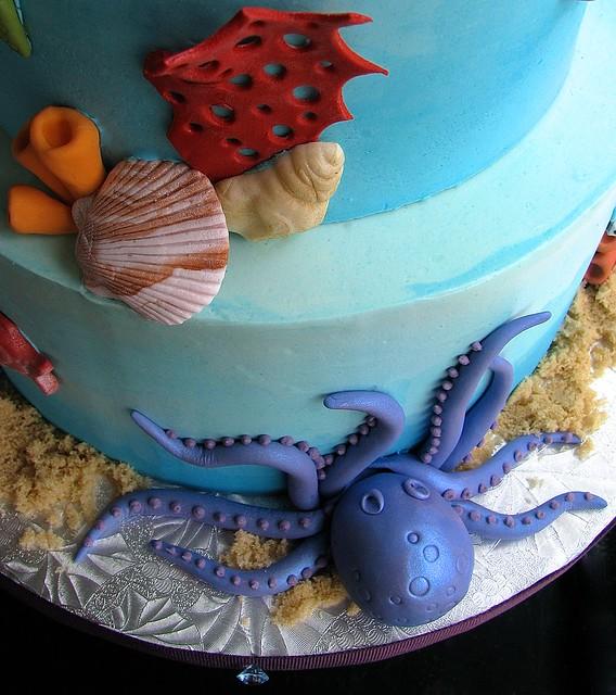 Fondant Octopus