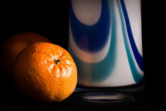Orange and blues