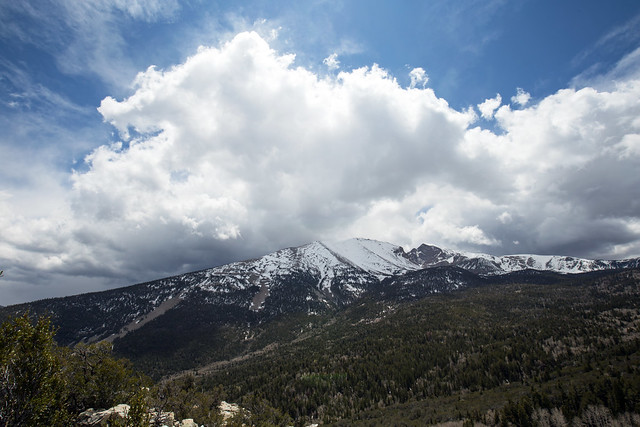 Wheeler Peak From Mather Overlook - Great Basin National Park