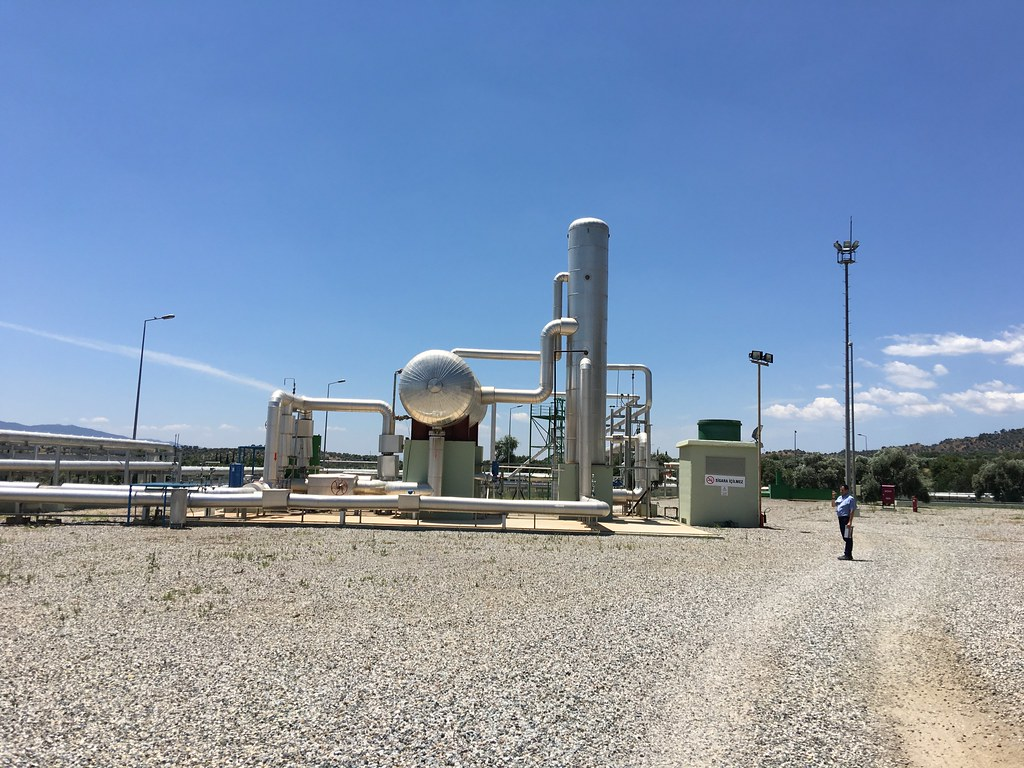 Dora 3 geothermal power plant | Pictures of a field trip dur