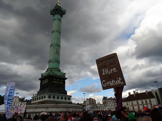 Bastille - Changement d'Etat civil libre et gratuit