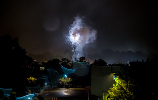 Explosions in Cleveland Park