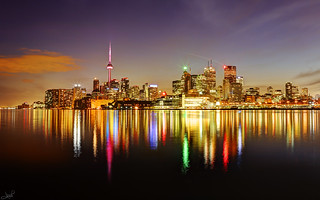 Toronto Skyline | by tsaiproject