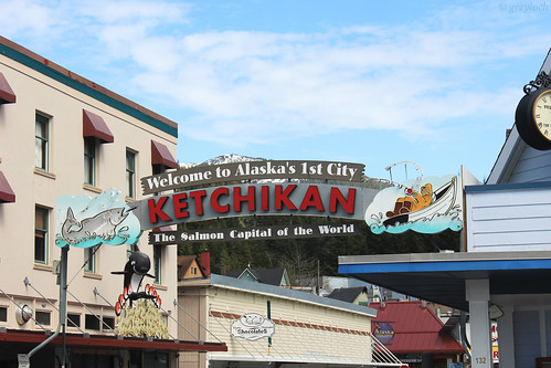 Ketchikan welcome sign | by greyloch
