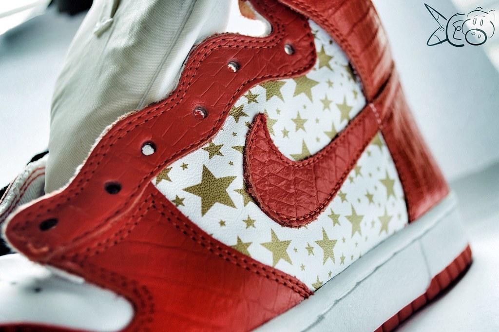 premium selection 22ab3 34fc7 Supreme x Nike Sb Dunk High Orange   Elisha Johnthunder   Flickr