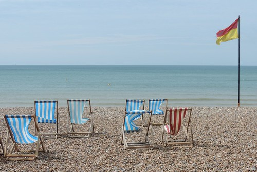 Deck chairs   by Steve Parker