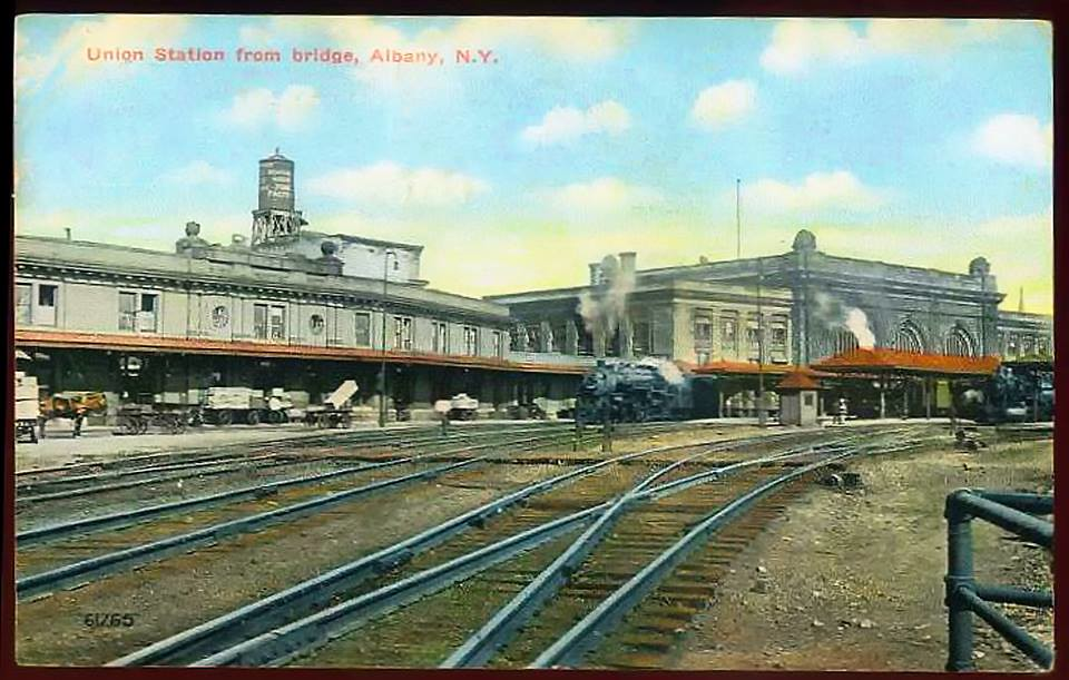 Union Station - Importance of Railroads | Albany Walks for