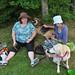 Anne & Sam with Eliz & Suzie