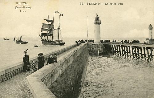 Fécamp: la jetée Sud | by Simenon.com