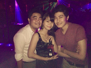 Saturday night out with #BFFs #GTRclub #yangon   Charleszaw
