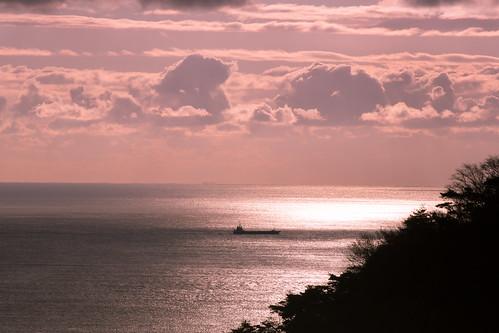 sea sky cloud canon eos day ship cloudy tamron miyagi okumatsushima 奥松島 sp70300mmf456 5dmarkⅲ
