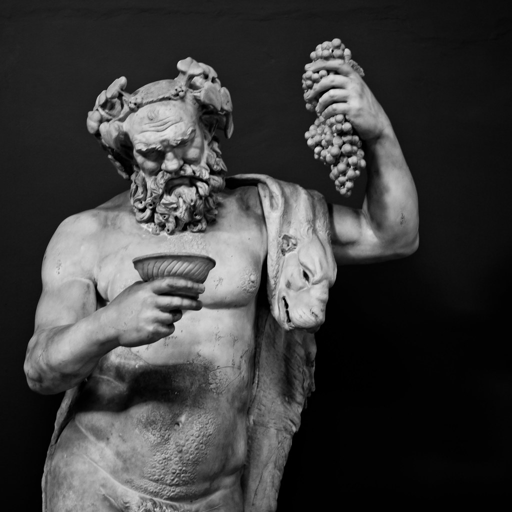 Dionysus - Statue at the Vatican | Statue of Dionysus (the ...