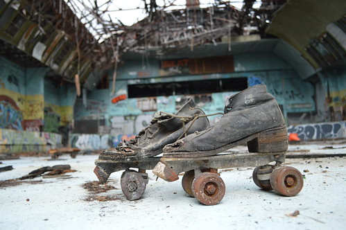 Abandoned Skates | by darkday.