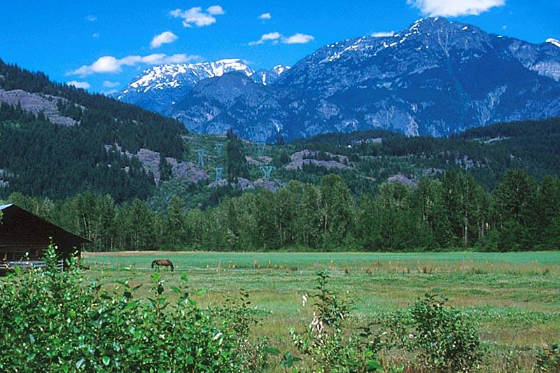 Pemberton, Pemberton Valley, British Columbia, Canada