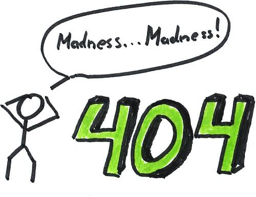 404_madness   by o.tacke