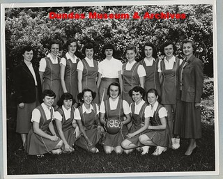 P-0902. District Basketball Team | by Dundas Museum and Archives