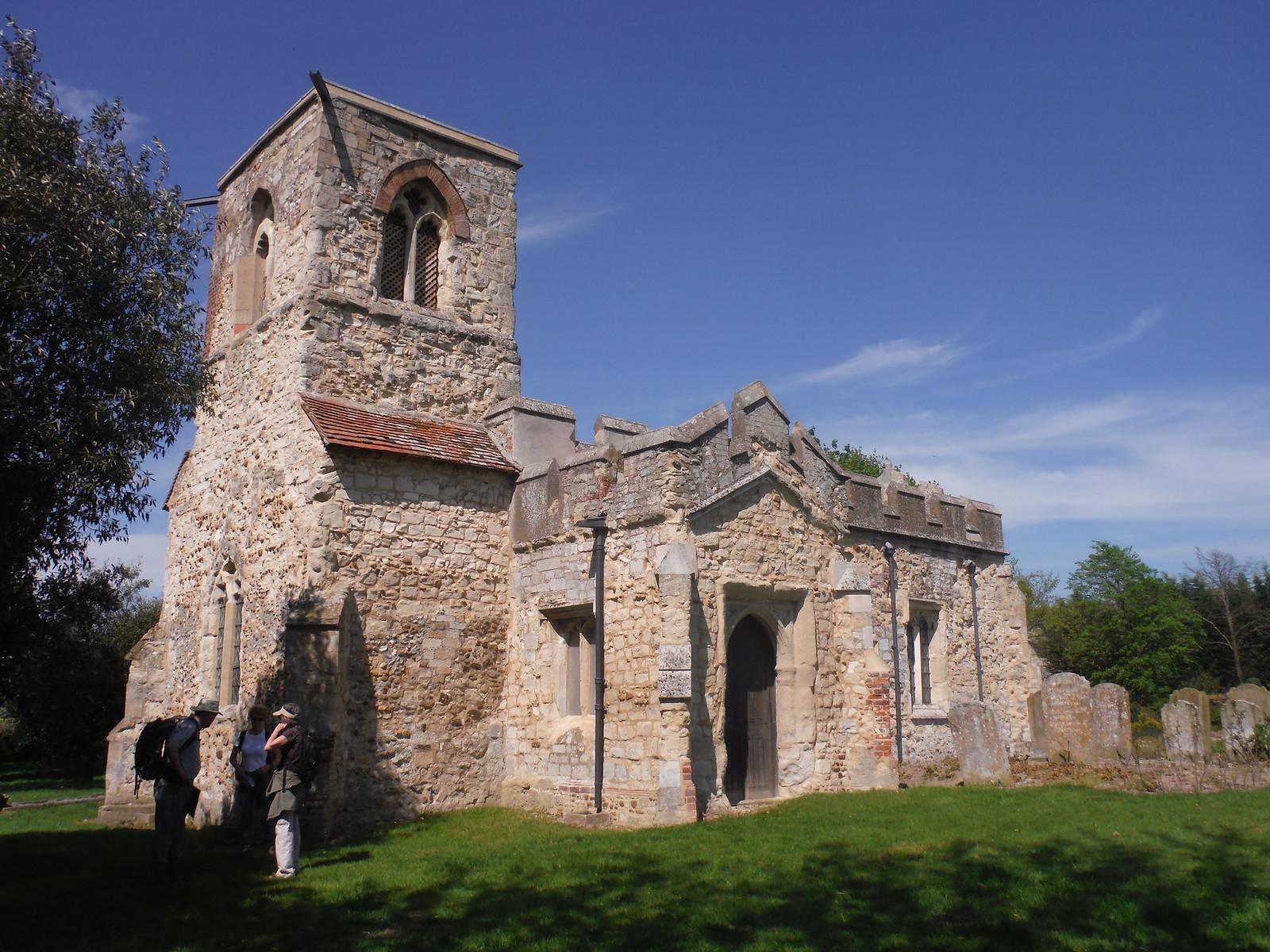 St. Mary Magdalene, Caldecote SWC Walk 91 - Baldock Circular