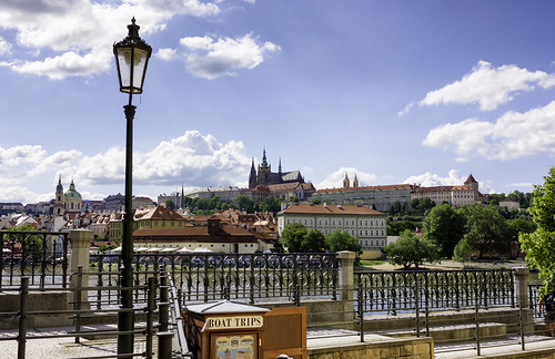 View of Prague Castle from Old Town | by totaledcow