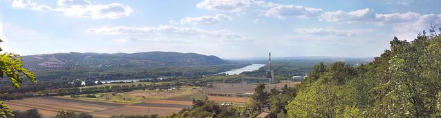 Donau Panorama vom Bisamberg