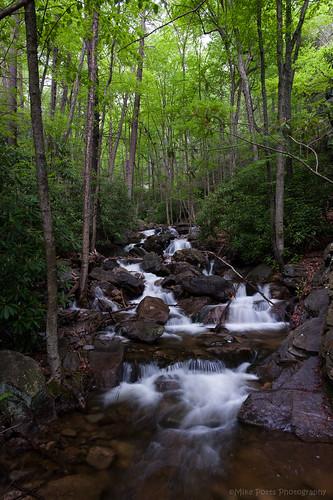 creek waterfall stream pennsylvania poconos glenonoko