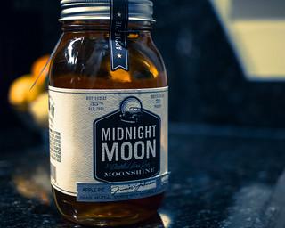 Midnight Moon Moonshine | by nan palmero