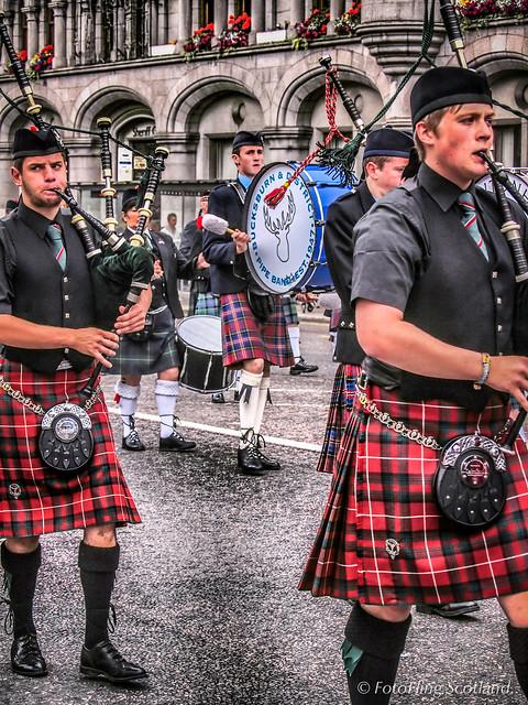 Aberdeen Tartan Day 2011