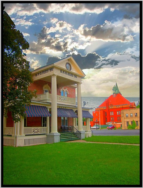 Rome NY ~ B.P.O Elks 96 ~ Old City Hall