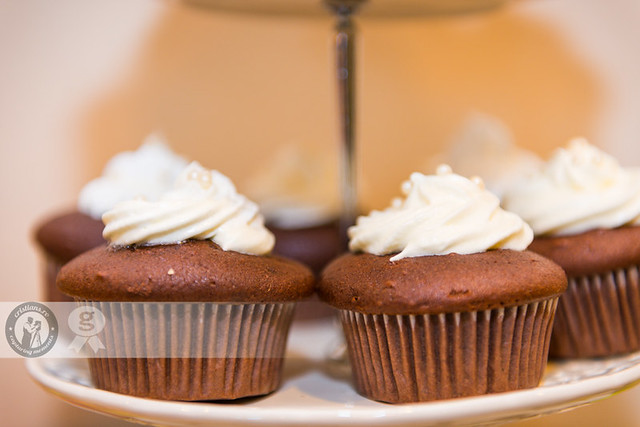Chocolate Cupcake Close-up