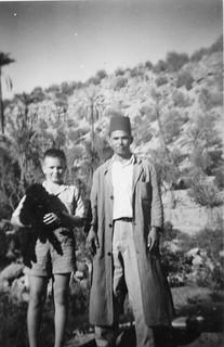 Maroc, Agadir été 1953, livraisons sur la route d'Imouzzer