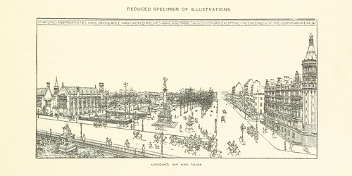 Image taken from page 199 of 'A Comprehensive Scheme for Street Improvements in London, accompanied by maps and sketches' | by The British Library